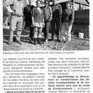 Idéelles et Ekovores s'initient au compostage / Ouest-France