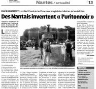Des Nantais inventent «l'uritonnoir» / Presse-Océan