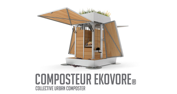 Collective Urban Composter EKOVORE