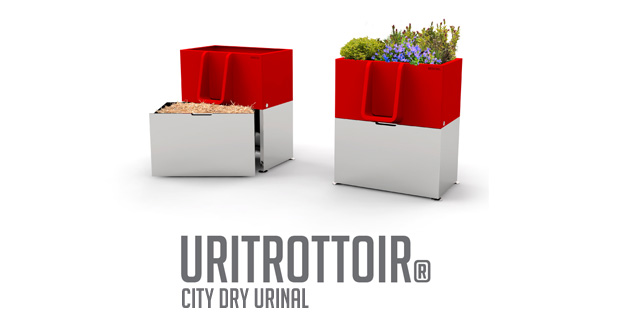 Uritrottoir City Dry Urinal