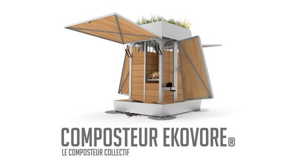 Composteur collectif Ekovore