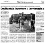 """Des Nantais inventent """"l'uritonnoir"""" / Presse-Océan"""